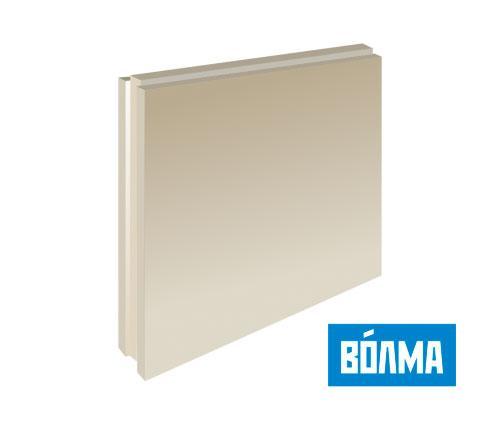 Пазогребневая плита полнотелая (ПГП) 667*500*80 мм