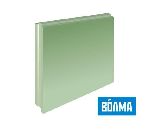Пазогребневая плита полнотелая влагостойкая (ПГП) 667*500*80 мм