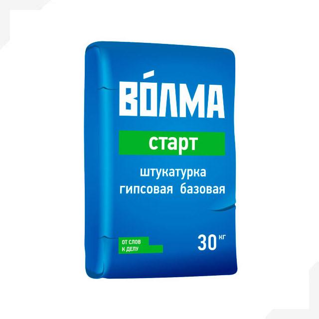 "Штукатурка гипсовая базовая ""ВОЛМА-Старт"", 30 кг"