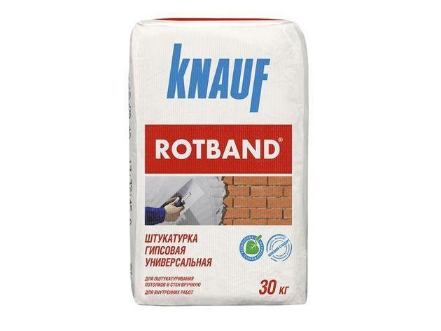 Штукатурка гипсовая универсальная КНАУФ-Ротбанд 30кг, фото 2
