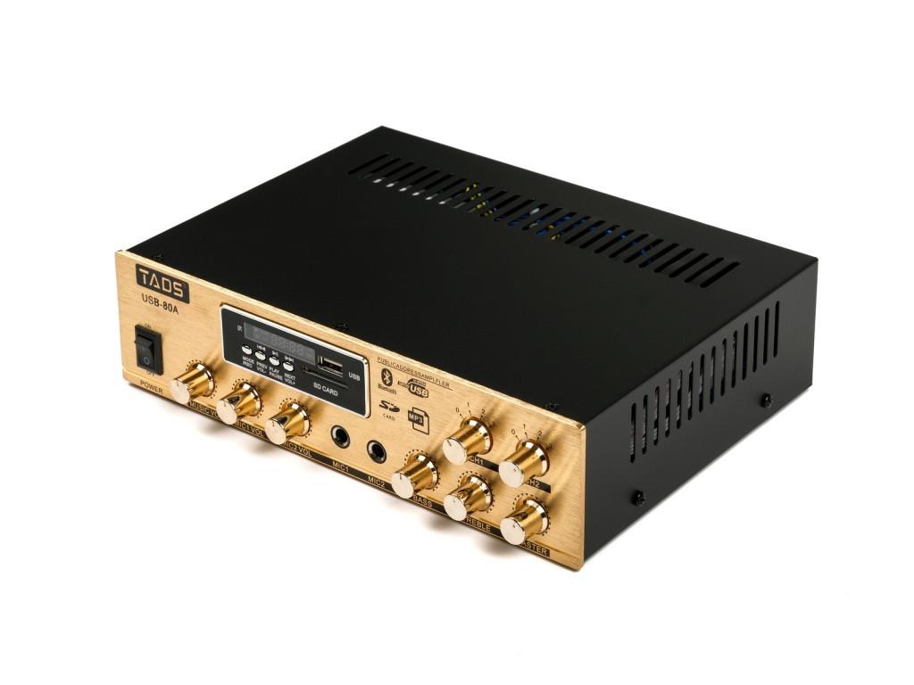Усилитель мощности, трансляционный, 80Вт, TADS DS-80A