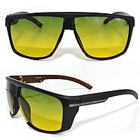 Солнцезащитные поляризационные очки ПОЛАРОИД для водителей черные оправы зеленые стекла G TR PX 9801 A