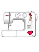 Швейная машинка JANOME-495 19строчек,петля-п/автомат,оверлок