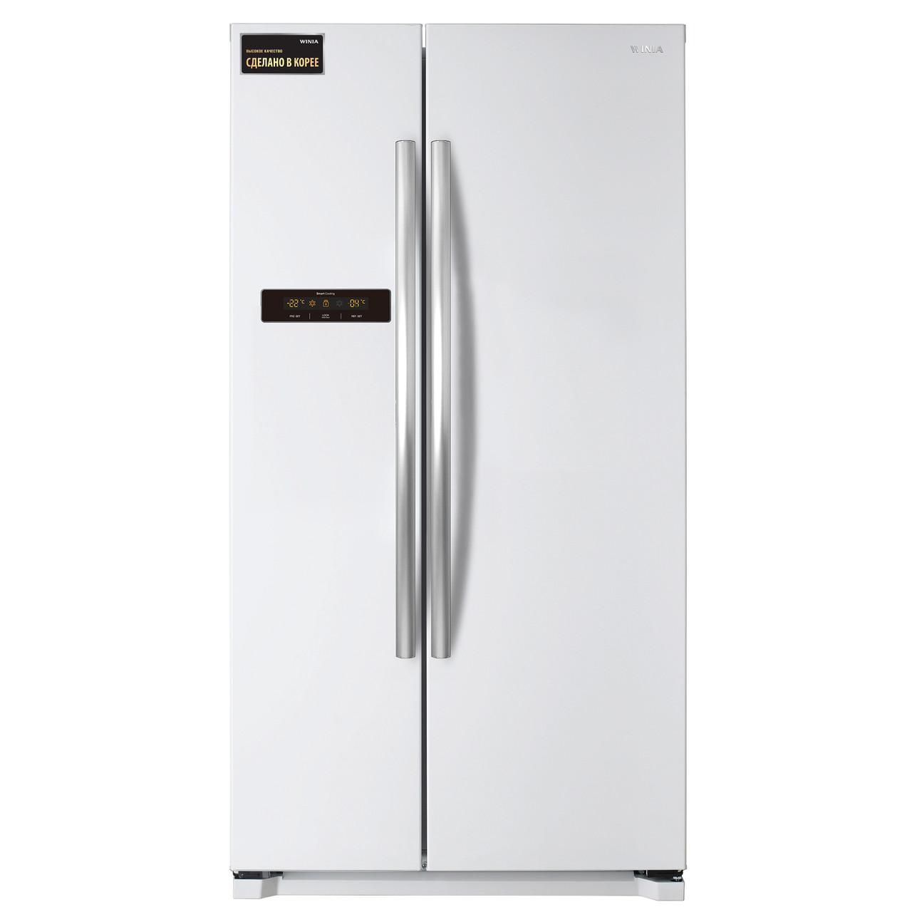 Холодильник Winia FRN-X22B5CWW SIDE BY SIDE WHITE