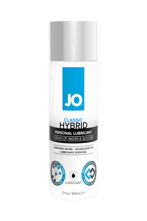 Лубрикант JO Lubricant Hybrid на водно-силиконовой основе, 60 мл