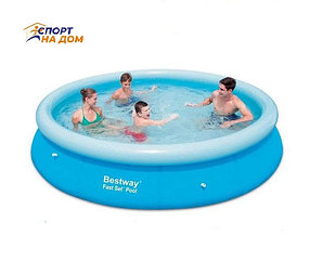 Надувной бассейн Bestway 57273 (размер: 366 × 76 см)