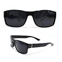 Солнцезащитные поляризационные очки ПОЛАРОИД черные оправы черные стекла PR2008