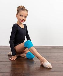 Наколенники для художественной гимнастики Celine Aquamarine, хлопок Chanté
