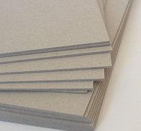 Картон переплетный 21 на 21 см, толщина 2 мм