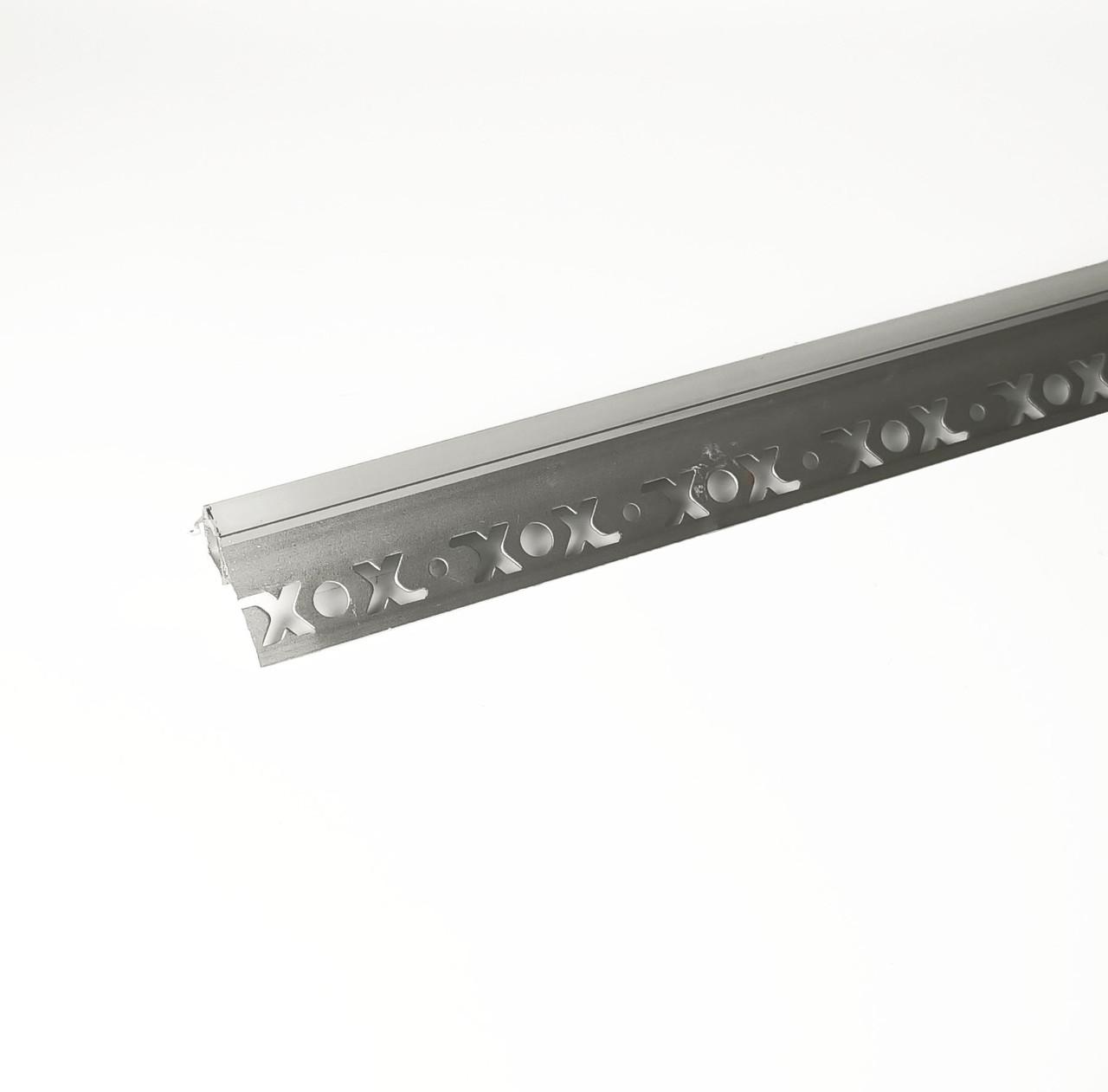 Алюминиевый профиль для подсветки в комплекте с рассеивателем  (HC-126 50х22 3M)