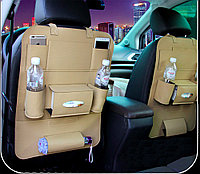 Органайзер для вещей на спинку переднего сиденья авто