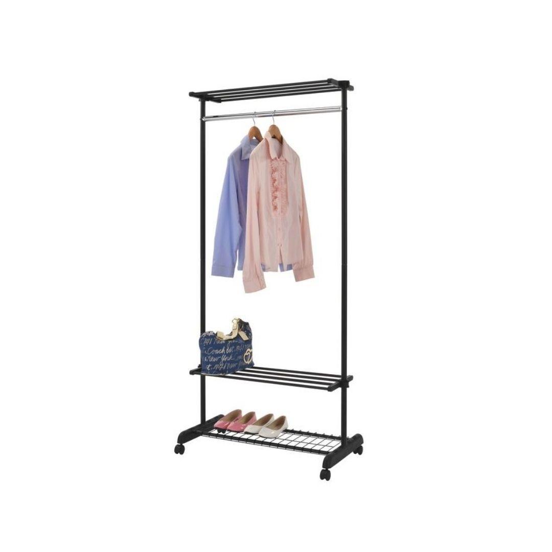Вешалка для одежды гардеробная с полками GC 5124