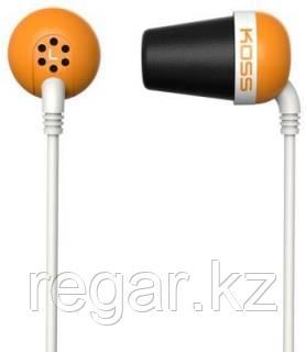 Наушники-вкладыши проводные Koss The Plug оранжевый