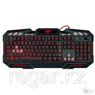 Клавиатура игровая Defender Doom Keeper GK-100DL RU, черный