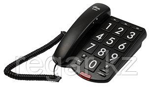 Телефон проводной Ritmix RT-520 черный