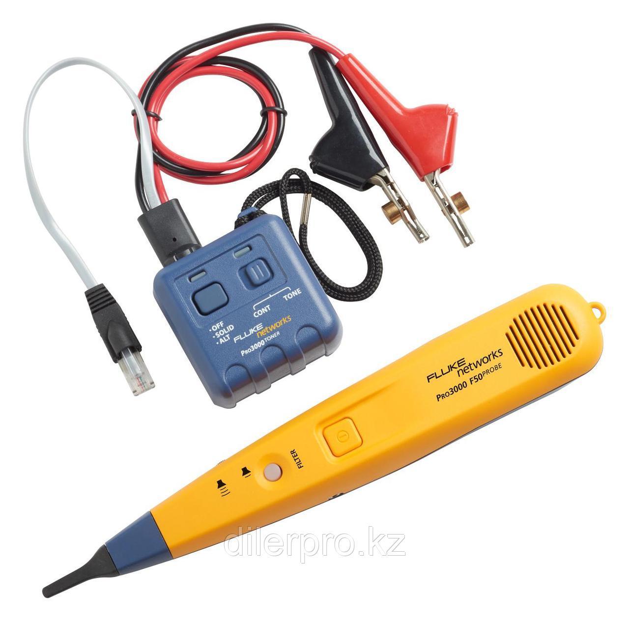 Fluke Networks PRO3000F50-KIT - набор для трассировки кабелей Pro3000F (50Hz), щуп и генератор