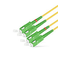Патч Корд Оптоволоконный SC/APC-SC/APC SM 9/125 Duplex 2.0мм 1 м