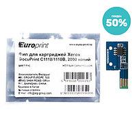 Чип Europrint Xerox C1110Y (CT201121)