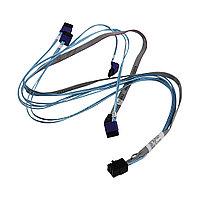 Кабель интерфейсный Mini SAS HD-4 SATA Supermicro CBL-SAST-0811