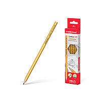Чернографитный шестигранный карандаш ErichKrause® Amber 45598 100 HB