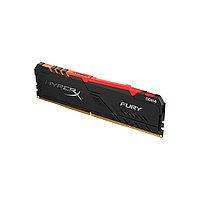 Модуль памяти Kingston HyperX Fury RGB HX434C16FB3A/8 DDR4 8G 3466MHz