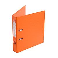 Папка–регистратор Deluxe с арочным механизмом, Office 2-OE6, А4, 50 мм, оранжевый