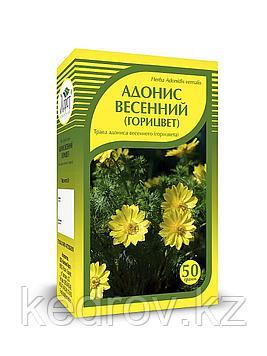 Адонис весенний (горицвет)трава, 50 г