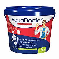 Дезинфектант C-60T, 5 кг. быстрый хлор, AquaDoctor