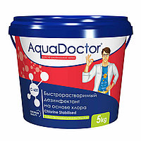 Дезинфектант C-90T, 1 кг. медленый хлор, AquaDoctor