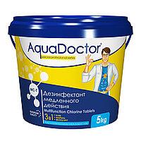MC-T, 50 кг. Средство по уходу за водой в бассейне AquaDoctor (таблетки по 200 гр.)