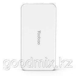 Портативное зарядное устройство Yoobao power bank i8 10000 mAh (Белый)