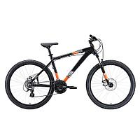 """Велосипед Stark'20 Shooter-1 чёрный/белый/оранжевый 16"""""""