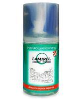 Антибактериальный очищающий комплекс Lamirel для экранов 200 мл. с салфеткой из микрофибры