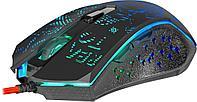 Мышь игровая Defender Destiny GM-918 черная, 3200dpi, мышь