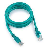 Патч-корд UTP Cablexpert PP12-1M/G кат.5e, 1м, литой, многожильный (зелёный)