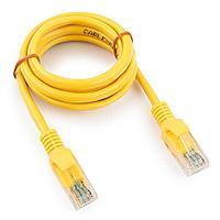 Патч-корд UTP Cablexpert PP12-1M/Y кат.5e, 1м, литой, многожильный (жёлтый)