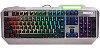 Клавиатура игровая Defender Stainless steel GK-150DL RU, черный, RGB подсветка, 9 режимов