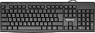 Клавиатура проводная Defender Action HB-719 RU черный