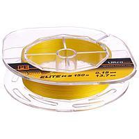 Леска плетёная Aqua Pe Ultra Elite M-8 Yellow, d=0,18 мм, 150 м, нагрузка 13,0 кг
