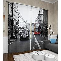 Фотошторы «Классика Лондона», размер 145 х 260 см, 2шт., габардин