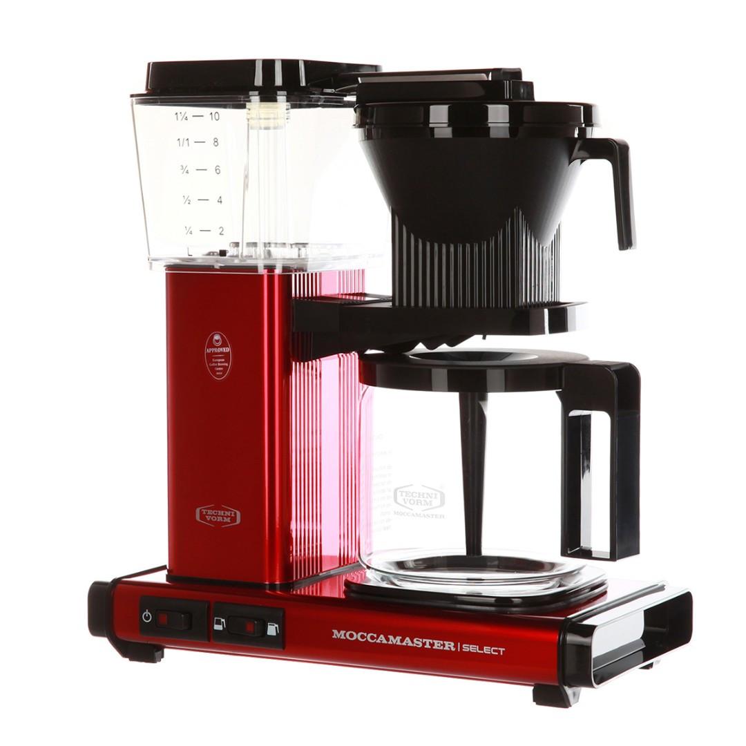 Кофеварка Moccamaster KBG741 Select, красный металлик