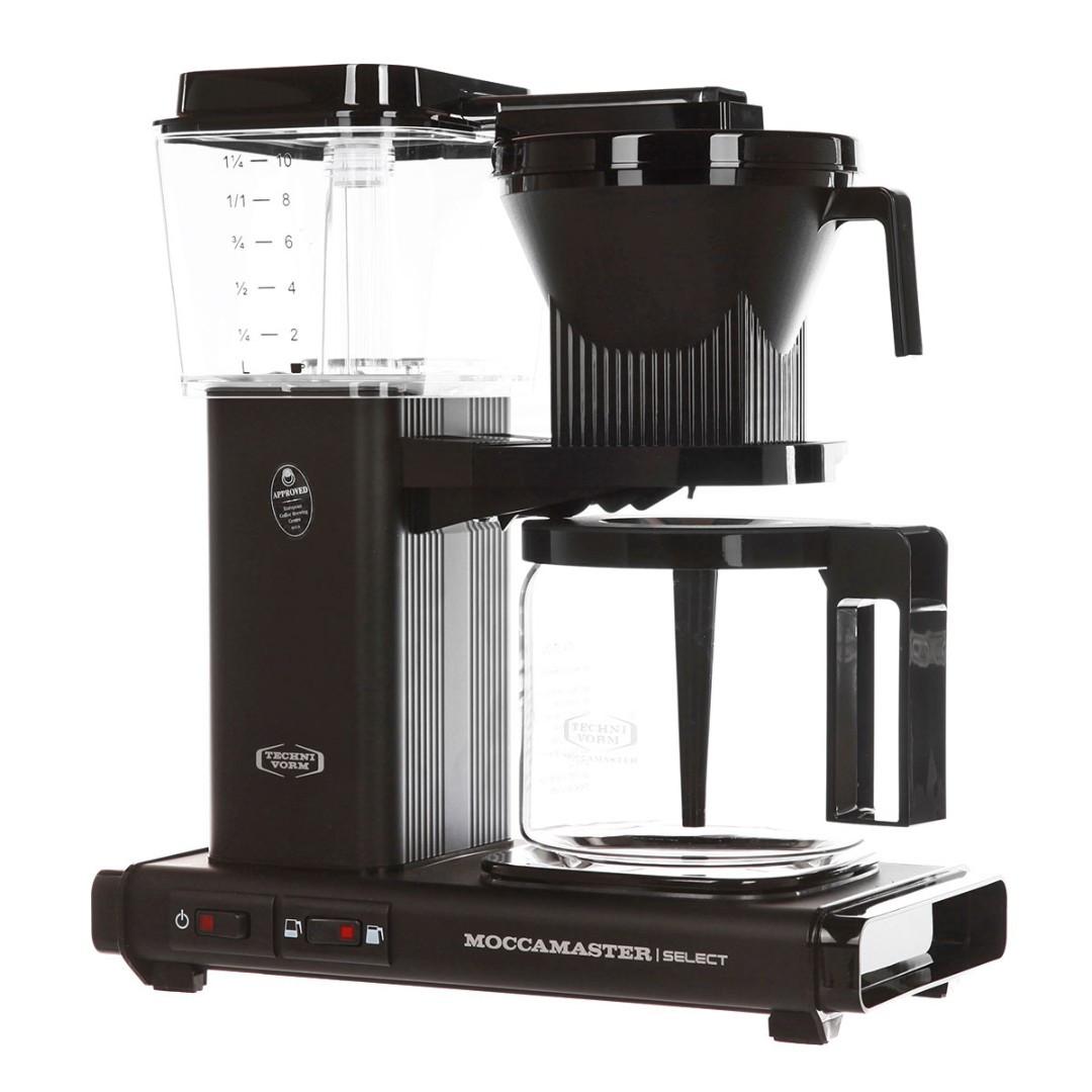 Кофеварка Moccamaster KBG741 Select, черный матовый