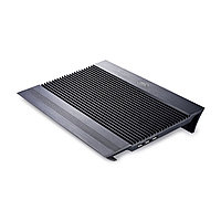 "Охлаждающая подставка для ноутбука, Deepcool, N8 Black DP-N24N-N8BK, 17"", Вентилятор 2*14см, 1000±10%RPM, 4*US"