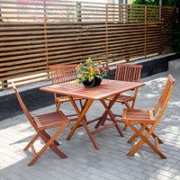 Набор летней мебели стол + 4 стула