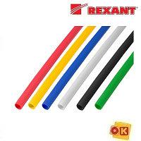 Термоусадочная трубка 3,0 / 1,5 мм,1 м (1шт) REXANT