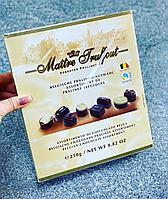 Шоколадные конфеты Maitre Truffout 250 гр. (Бельгия)