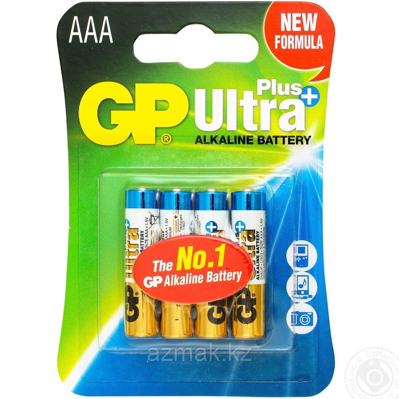 Батарейки GP ULTRA PLUS Alkaline 24AUP-CR4 (AAA)