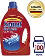 Порошок для посудомоечной машины Somat Classic, средство для мытья посуды в виде порошка, 3кг (100 моек), фото 4