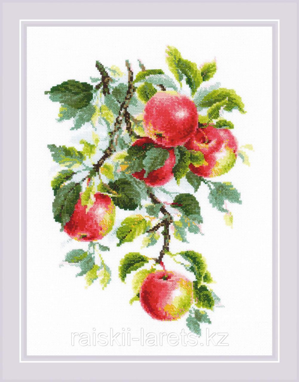 """Набор для вышивания крестом РИОЛИС 1938 """"Наливные яблочки"""""""