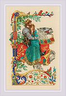 """Набор для вышивания крестом РИОЛИС 1924 """"Баллада о любви"""""""